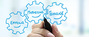 Teaser Leistungen von doubleSlash, Marketing Technology