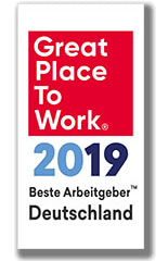 Great Place to Work ® Bester Arbeitgeber 2019