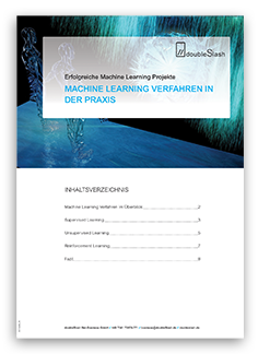 doubleSlash Whitepaper Machine Learning Verfahren in der Praxis