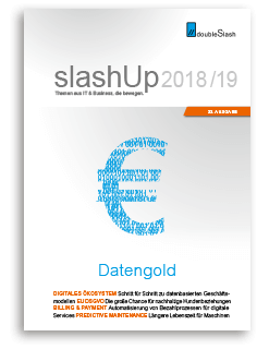 Datengold. IT-Magazin von doubleSlash